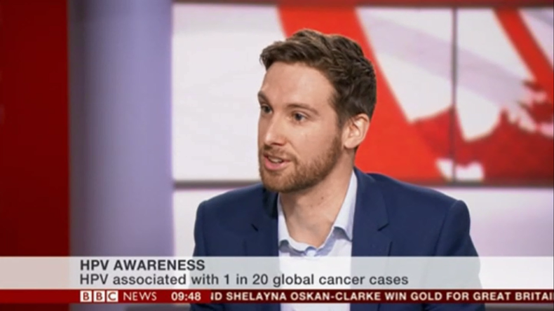 HPV Awareness Day on BBC News