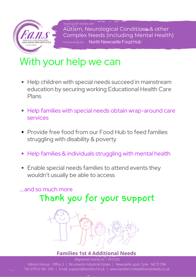 Whole family care - NOT just the individual