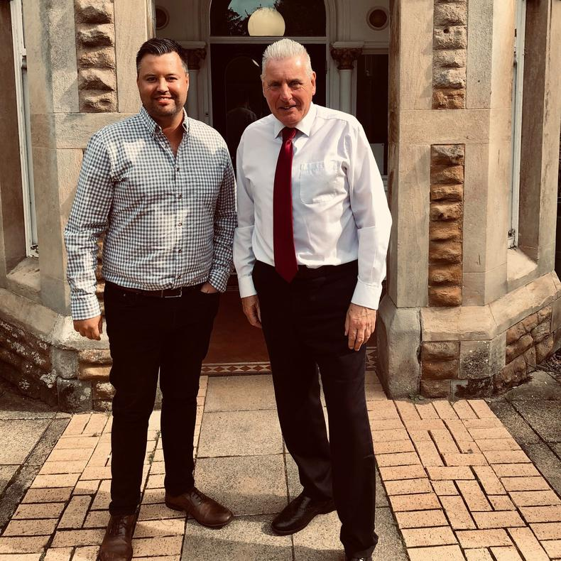 Vernon Coaker MP meets with The Wolfpack Project