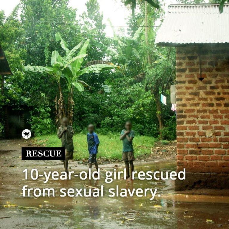 10-year-old girl rescued from sexual slavery