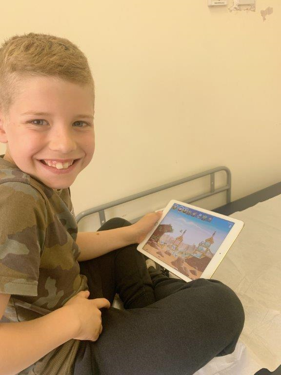 Funded iPads make huge difference to paediatric patients