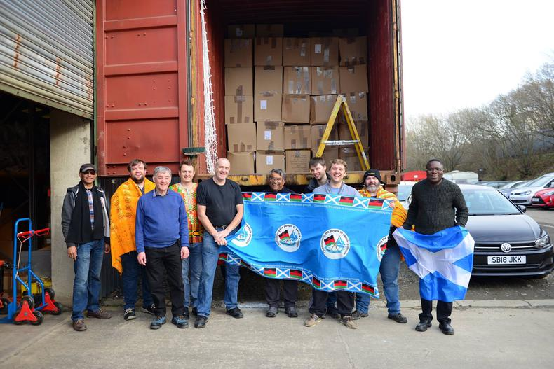 Over 1300 PCs on their way to schools in Malawi