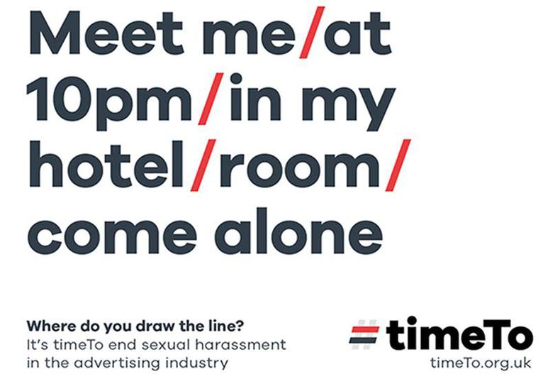 TimeTo campaign exposes reality of sexual harassment in advertising
