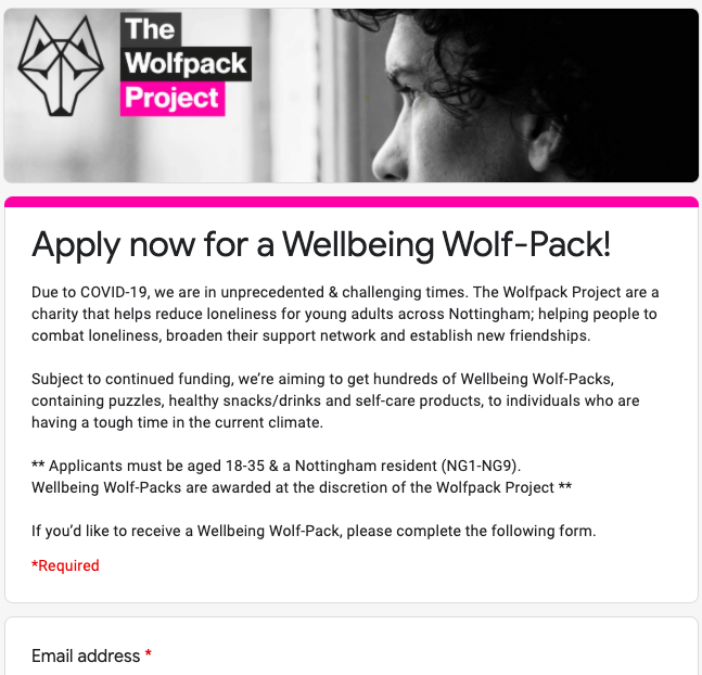 Wellbeing Wolf-Packs