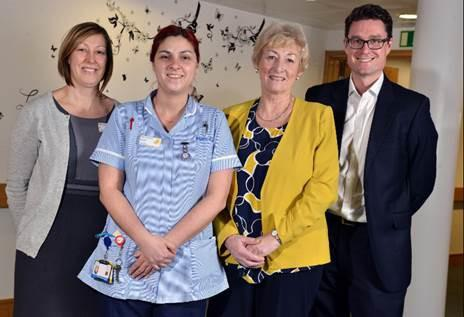 Morrisons donate almost £500,000 for Marie Curie hospice redevelopment