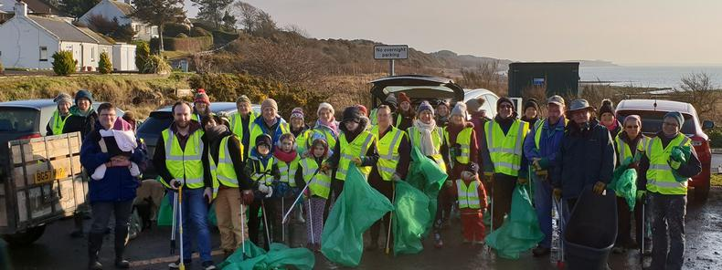 Litter Heroes in Record Clean Up