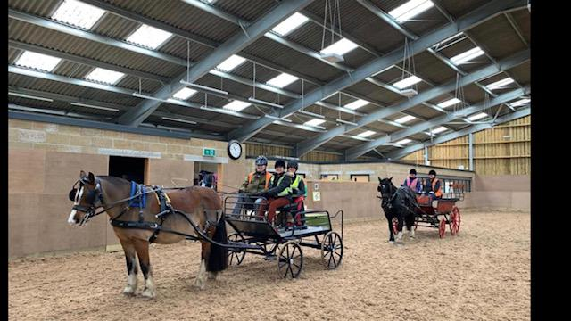 Training for our carriage driving  coaches
