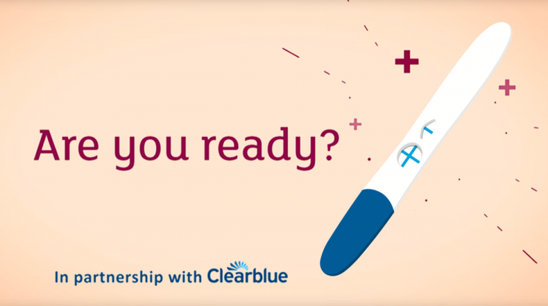 Clearblue partners with Tommy's on Planning for Pregnancy