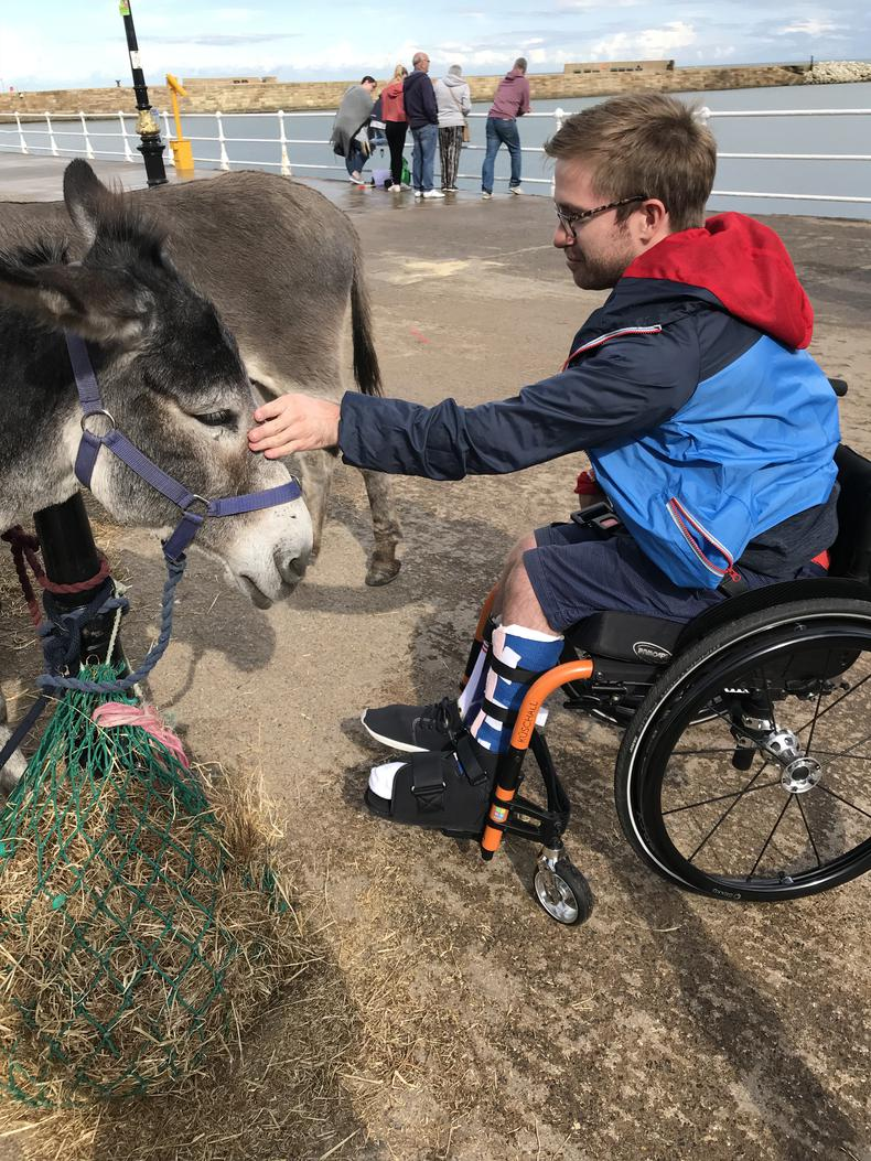 Two Wheelchairs in One - Our Amazing Ambassador's Story