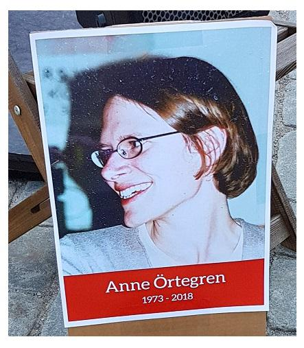Anne Örtegren - A Year On