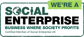 A certified member of Social Enterprise UK