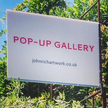 The Charity Pop-up Gallery with Garden