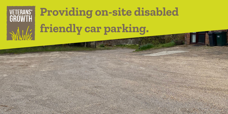 Providing on-site disabled friendly car parking