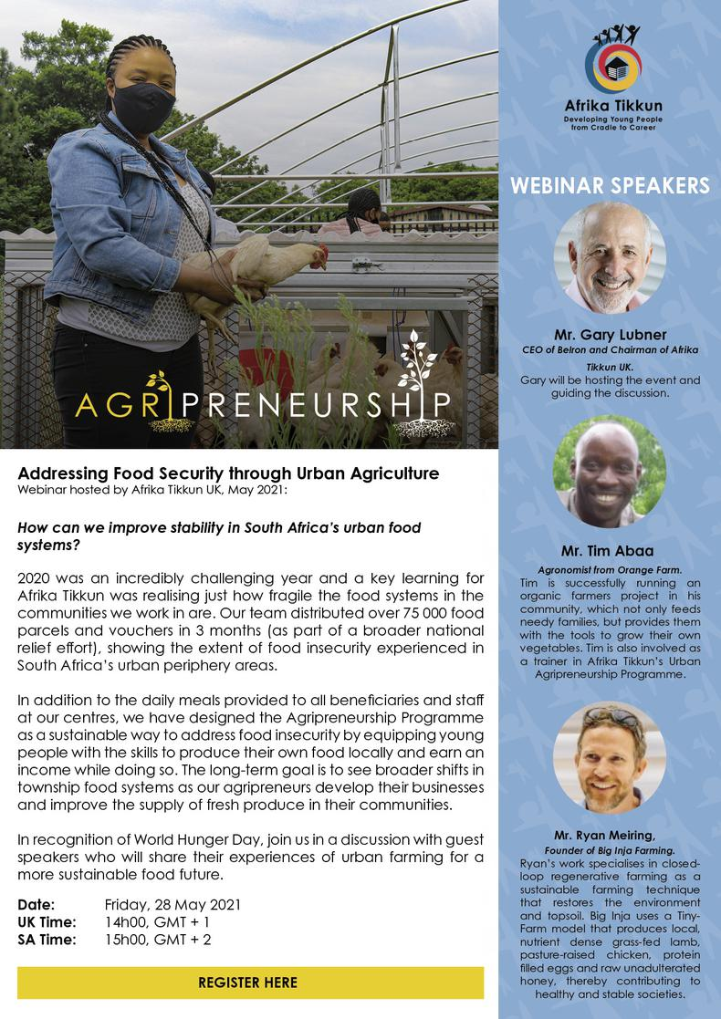 Addressing Food Security through Urban Agriculture