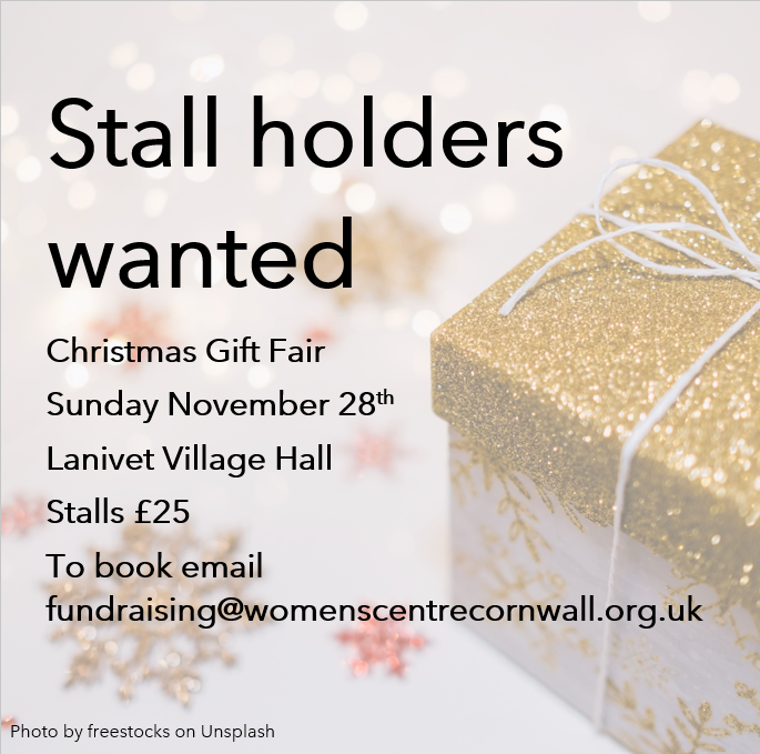 Charity calls on crafters and businesses for a festive event this November