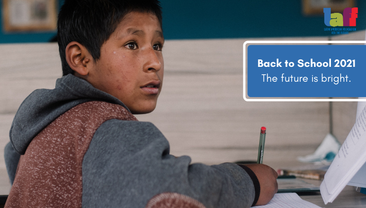 Together, we can get Cusco 'Back to School'!