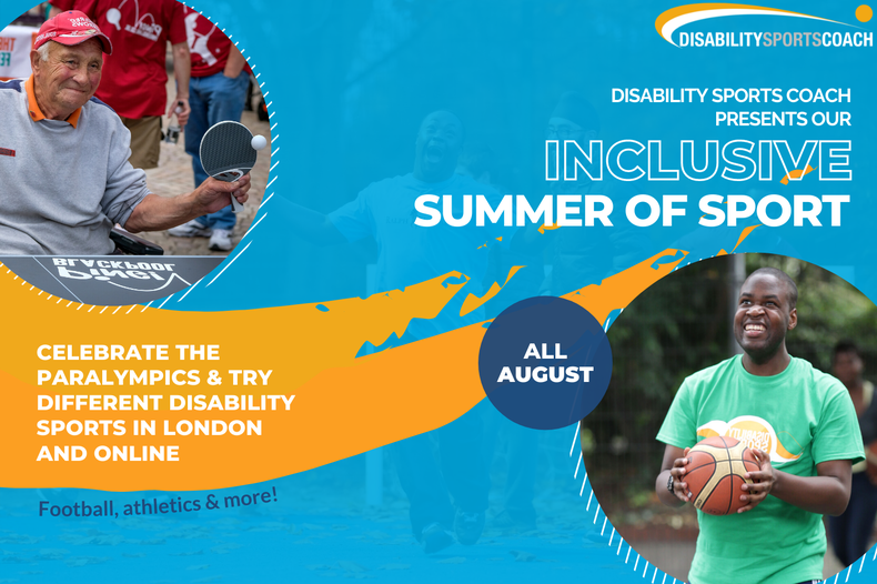 Join our Inclusive Summer of Sport!
