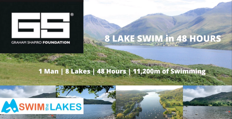 1 Man | 8 Lakes | 48 hours | 11,200m of swimming