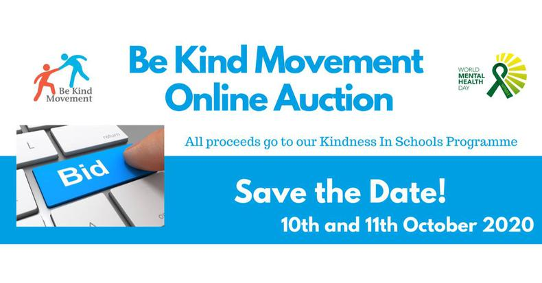 Be Kind Movement Online Auction (10-11 Oct 2020)