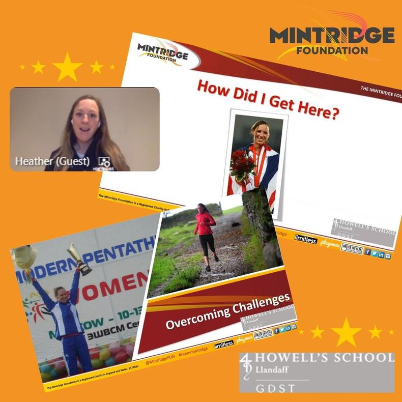 Heather Fell OLY Delivers An Inspirational Presentation And Q&A With The Talented Athletes At Howell's School