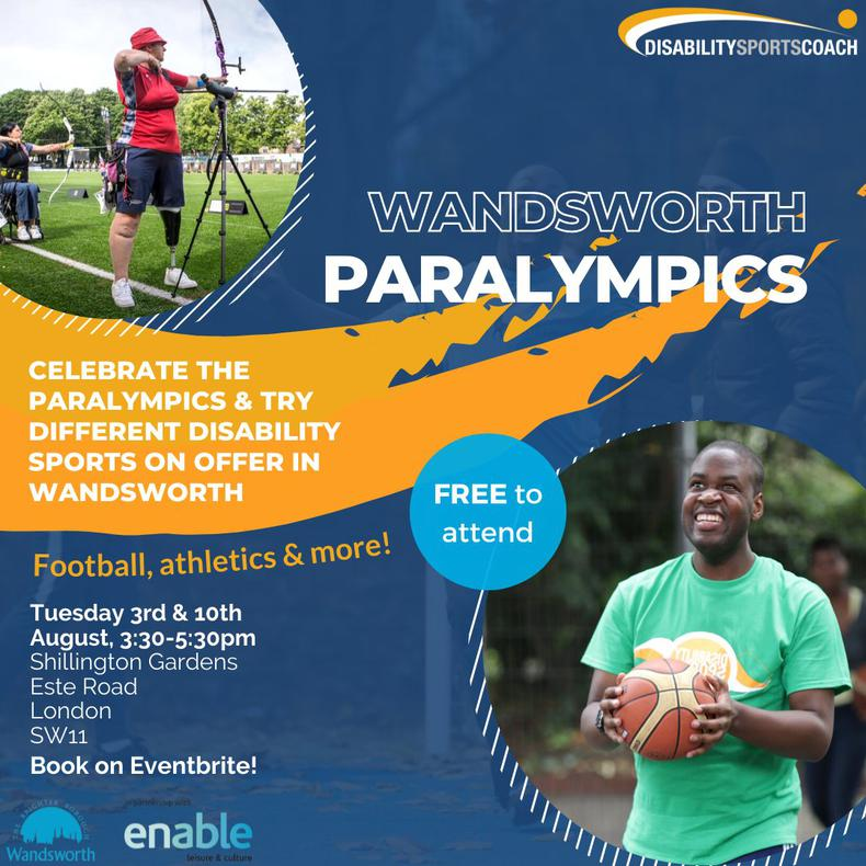 Join us at the Wandsworth Olympics!