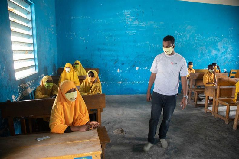 Helping girls in Somalia safely sit their exams
