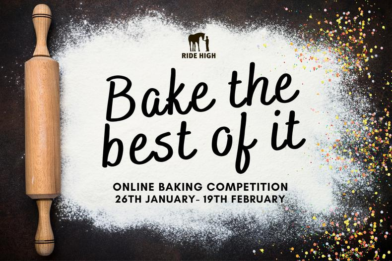 Enter our online Baking Competition - bake the best of it