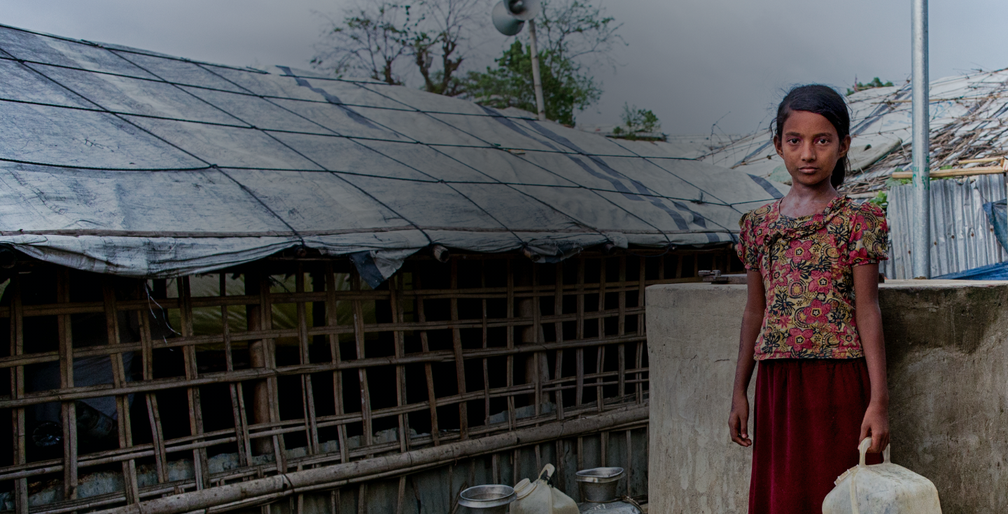 Clean water, food and medical supplies are urgently needed—donate through your business