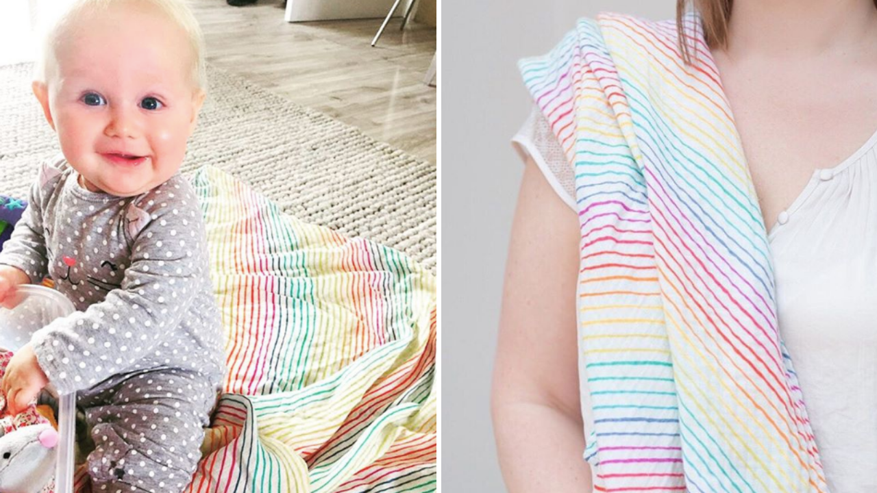 Muslins, mums, and midwives—how one small business gives back to UK mothers