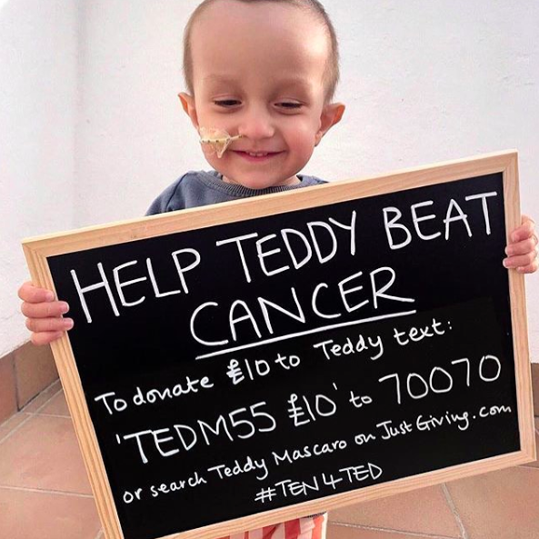 How one company's mistake helped a little boy fight cancer