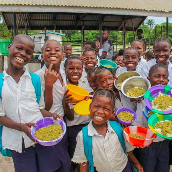 Meet the UK chef helping to feed hungry school kids in 18 countries