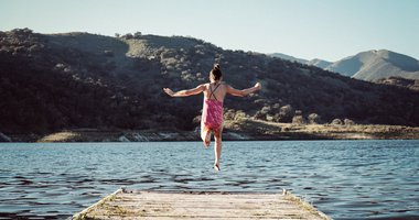 """""""Feel the fear, and do it anyway""""—why I took the sustainability plunge, and you can too."""
